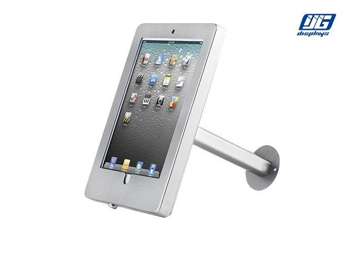 Wall - Mounted Lockable Ipad Stand  360 Degree Rotated Adjustable Tilt Angle